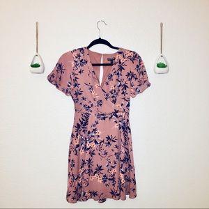 EXPRESS Pink Floral Dress